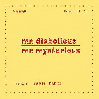 Fabio Fabor - Mr Diabolicus / Mr Mysterious [Vinyl] USA import