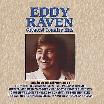 Eddy Raven - Greatest Country Hits [CD] USA import