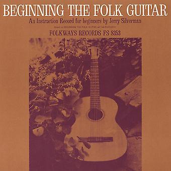 Jerry Silverman - Beginning Folk Guitar: An Instruction Record for B [CD] USA import