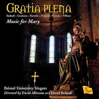Bristol University sångare - Gratia Plena-musik för Mary [CD] USA import