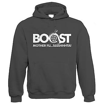 Boost Mother Fussshhhta, Car Hoodie - Turbo Racing JDM Rally Motorsport