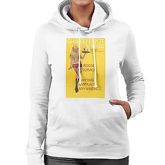 Geschud Not Stirred Sexy Roomservice meisjes vrouwen Hooded Sweatshirt