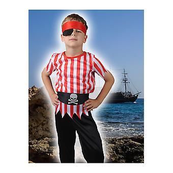 Trajes de los niños niño niños pirata corsario