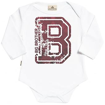 Spoilt Rotten Big Brother Organic Babygrow