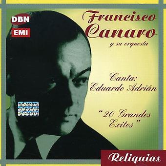 Francisco Canaro - Canta Eduardo Adrian: 20 importieren Grandes [CD] USA