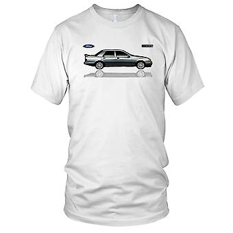 Ford Sierra Cosworth klassisk sport bil damer T skjorte