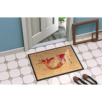 Carolines Treasures  8339-MAT Mermaid  Indoor or Outdoor Mat 18x27 8339 Doormat