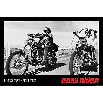 Easy Rider - Black & blanc affiche Poster Print