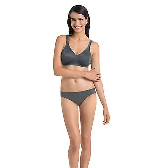 Rosa Faia 5493-408 Women's Anthracite Grey Non-Wired Soft Bra