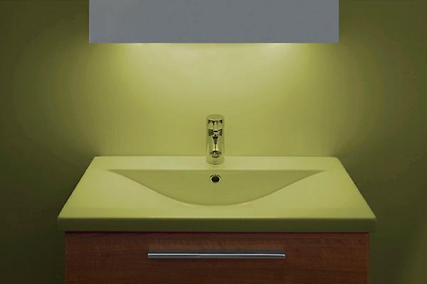 Ambient Ultra-Slim LED Bathroom Mirror With Demister Pad & Sensor K55T
