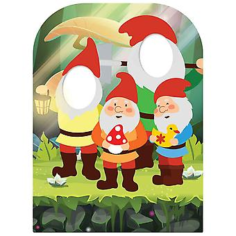 The Spirit Of The Garden Gnomes Child Size Stand-in Cardboard Cutout / Standee