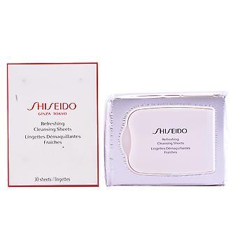Shiseido die Essentials erfrischende Reinigung Blatt 30 Uds für Frauen