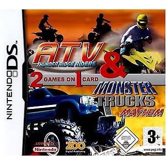 ATV monster trucks Compilation (Nintendo DS)-ny