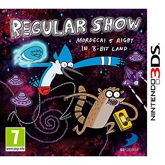 Regular Show Mordecai and Rigby in 8-bit Land (Nintendo 3DS) - New