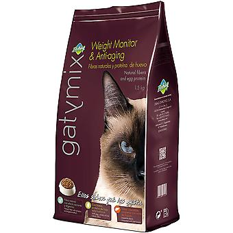 GatyMix Nourriture pour Chats Weight Monitory Anti Aging