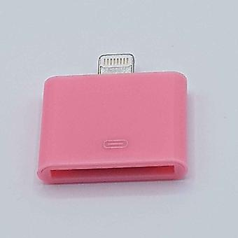 30 Pin 8 Pin Adapter-für Ipad/iPhone-Pink