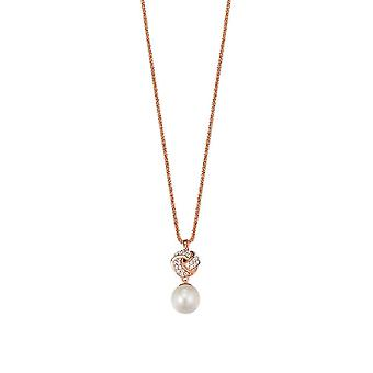 ESPRIT collection ladies chain necklace silver Rosé Pelia ELNL92745B420