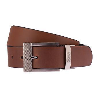 PICARD belts men's belts leather belt Cognac 2527