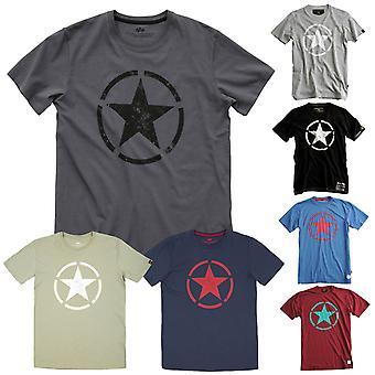 Alpha industries mannen T-Shirt star