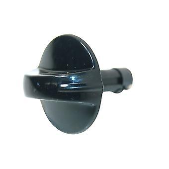Cannon Black Cooker Control Knob