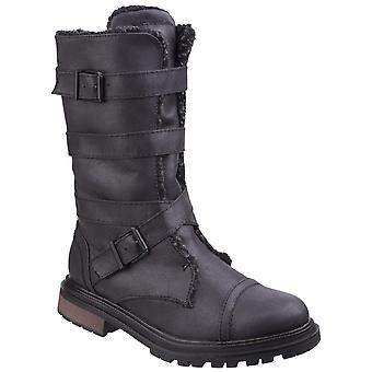 Rocket Dog Womens Lance Buckle Boot Black