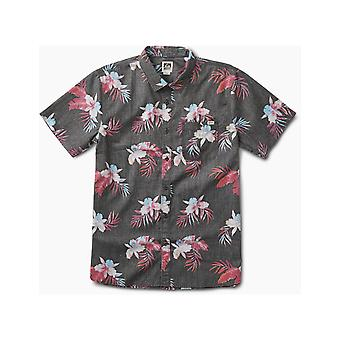 Reef Isle Kortärmad skjorta i svart