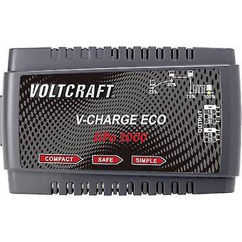 VOLTCRAFT V-Charge Eco LiPo 2000 pienoismalli akku laturi 230 V 2 A Lipolymeeri