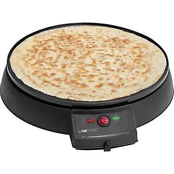 Clatronic CM 3372 Crepe maker with manual temperature settings Black