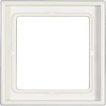 Jung 1x Frame LS 990 Alpine white LS 981 WW
