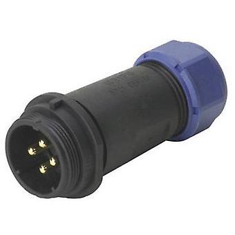 Weipu SP2111 / P 7 II Bullet connector stekker, rechte serie (aansluitingen): SP21 totaal aantal pins: 7 1 PC('s)