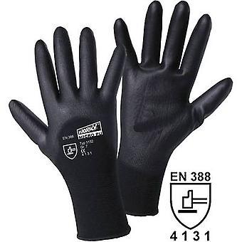 L + D worky MICRO zwart 1152 nylon beschermende handschoen maat (handschoenen): 9, L EN 388 CAT II 1 paar