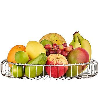 Bread basket vegetable basket fruit basket basket stainless steel matte
