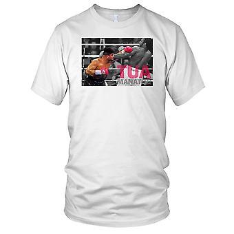 Tua Manator boksing legende Mens T-skjorte