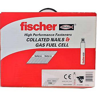 Fischer 51mm agrupadas anel Shank unhas & Galv de células de combustível de gás 3 (3300)