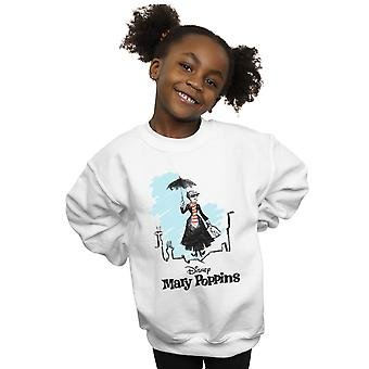 Disney chicas Mary Poppins Rooftop aterrizaje sudadera color