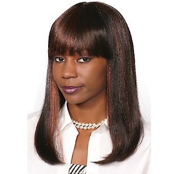Fashion women medium straight Kapuki wig