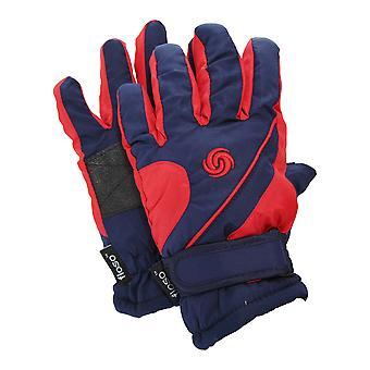 FLOSO enfants/Childrens gants de Ski matelassée thermique Extra chaudes avec Palm Grip