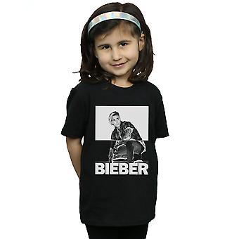 Justin Bieber meisjes splitsen Contrast T-Shirt