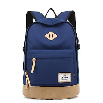 Adventurous and roomy backpack-blue