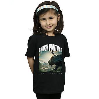 Marvel девочек Черная пантера для Уэйканда футболку