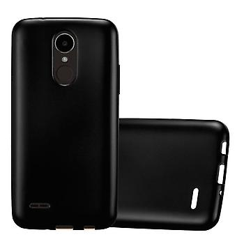 Cadorabo tilfelle for LG K4 2017 tilfelle deksel - mobiltelefon tilfelle laget av fleksibel TPU silikon - silikon tilfelle beskyttende deksel Ultra Slim Soft Back Cover Case Støtfanger