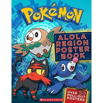 Pokemon - Reshapes Region Poster Book von Scholastic - 9781338161229 Buch