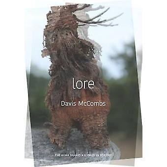 Lore by Davis McCombs - Linda Bierds - 9781607814818 Book
