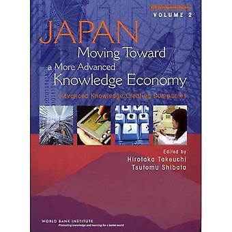 Japan, verhuizen naar een meer geavanceerde kenniseconomie: geavanceerde kennis creëren bedrijven v. 2 (Wbi ontwikkelingsstudies)