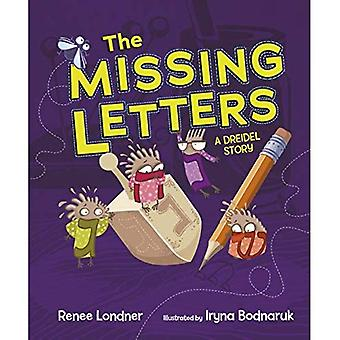 The Missing Letters the Missing Letters: A Dreidel Story a Dreidel Story