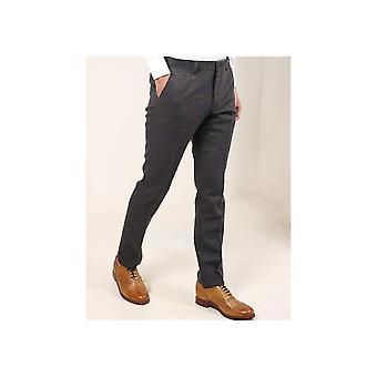 Guide London Large Check Suit Trousers