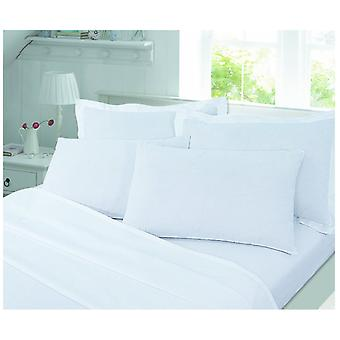 Brushed Cotton Flannelette Pair Pillow Case Warm and Soft in Colours