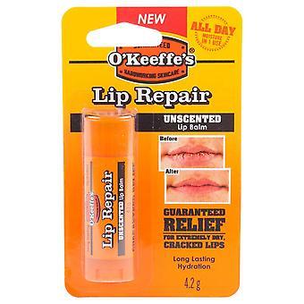 O ' Keeffe ' s Lip Repair Stick Original 4.2g (3 Pack)