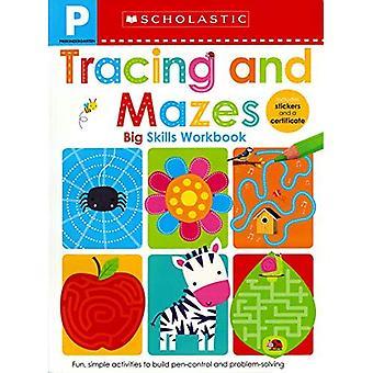 Pre-K Big Skills Workbook: Tracing and Mazes (Scholastic Early Learners) (Scholastic Early Learners)