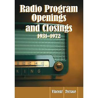 Radioprogramma Openingen en Sluitingen - 1931-1972 - 9780786449255 Boek